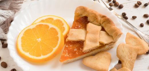 Pastel de naranja para los días fríos