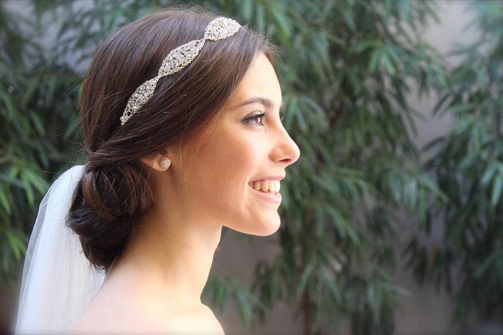 Tocados para novias: el velo