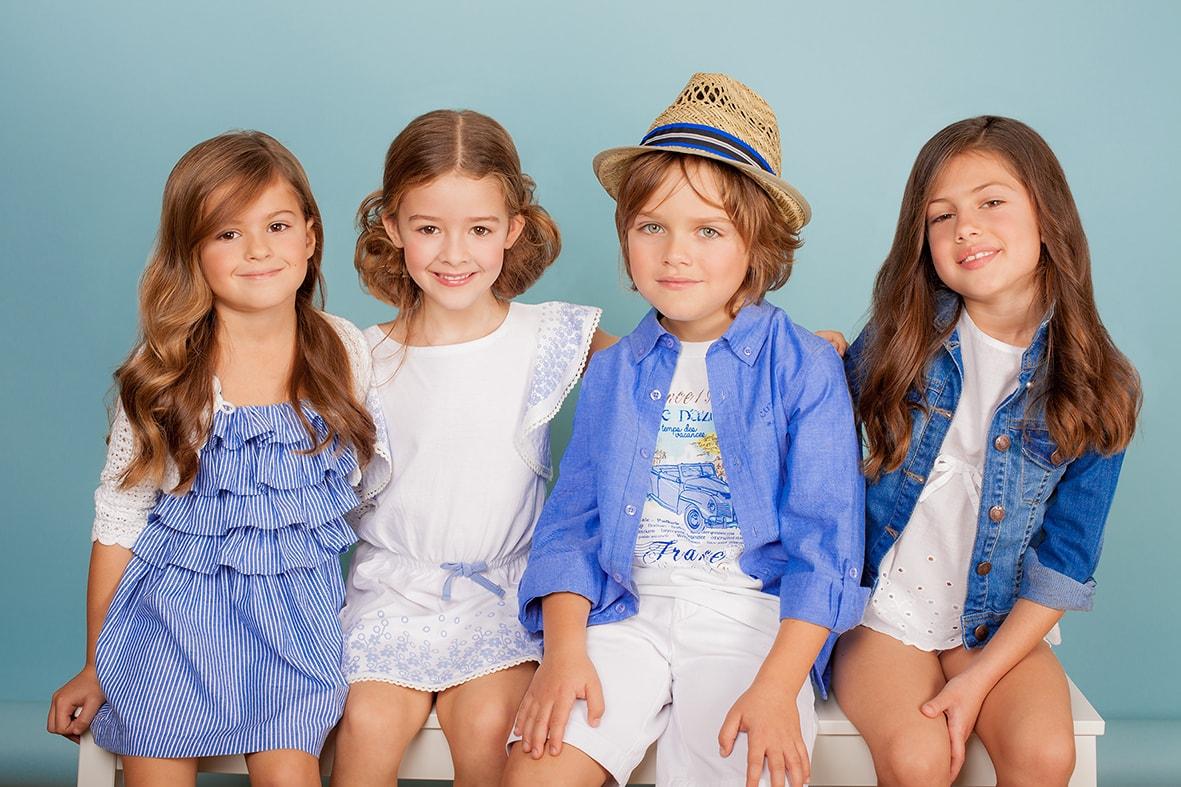Tendencias de primavera en moda infantil