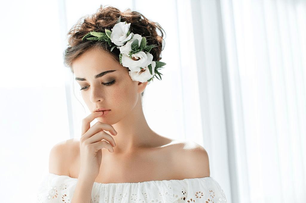 Peinados para novias con el pelo corto