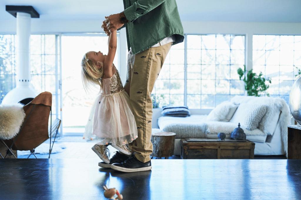 Beneficios de bailar en los niños pequeños